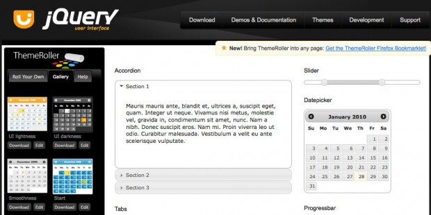 jQuery UI ThemeRoller